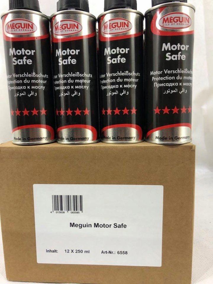 Добавка для масла Meguin Motor Safe 250 мл x 12