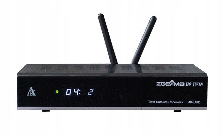 ZGEMMA H9 Twin DVB-S2X 4K UHD H.265 WiFi CI-тюнер
