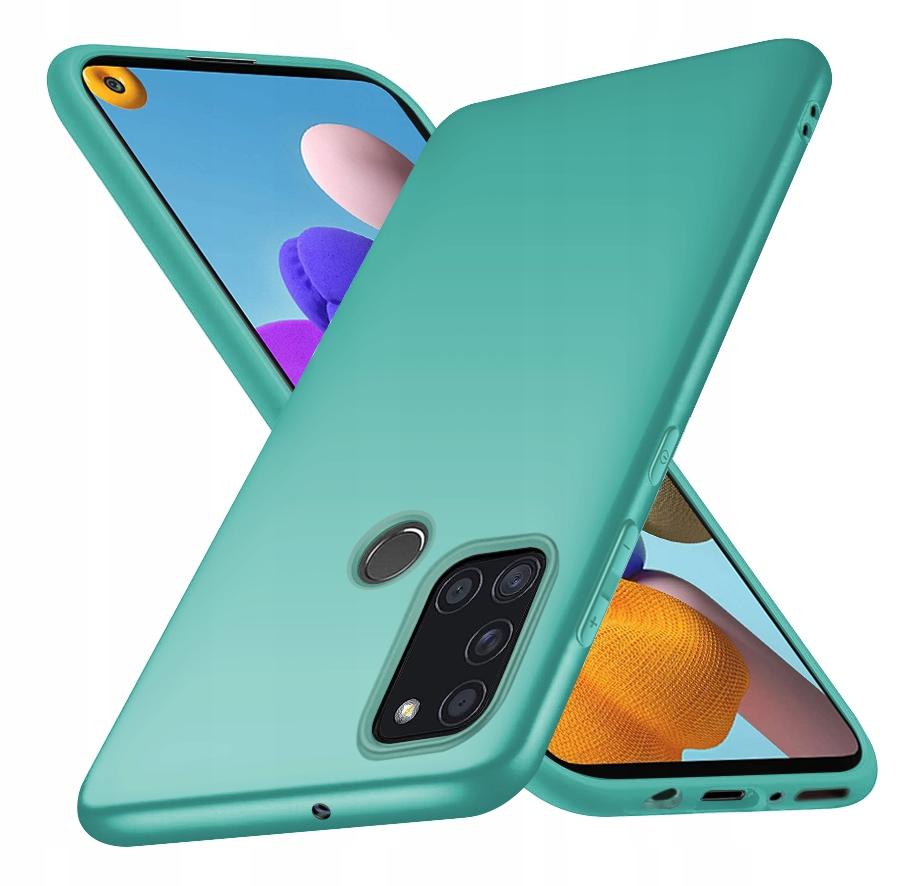 ETUI CASE MATT + SZKŁO 9H do Samsung Galaxy A21S