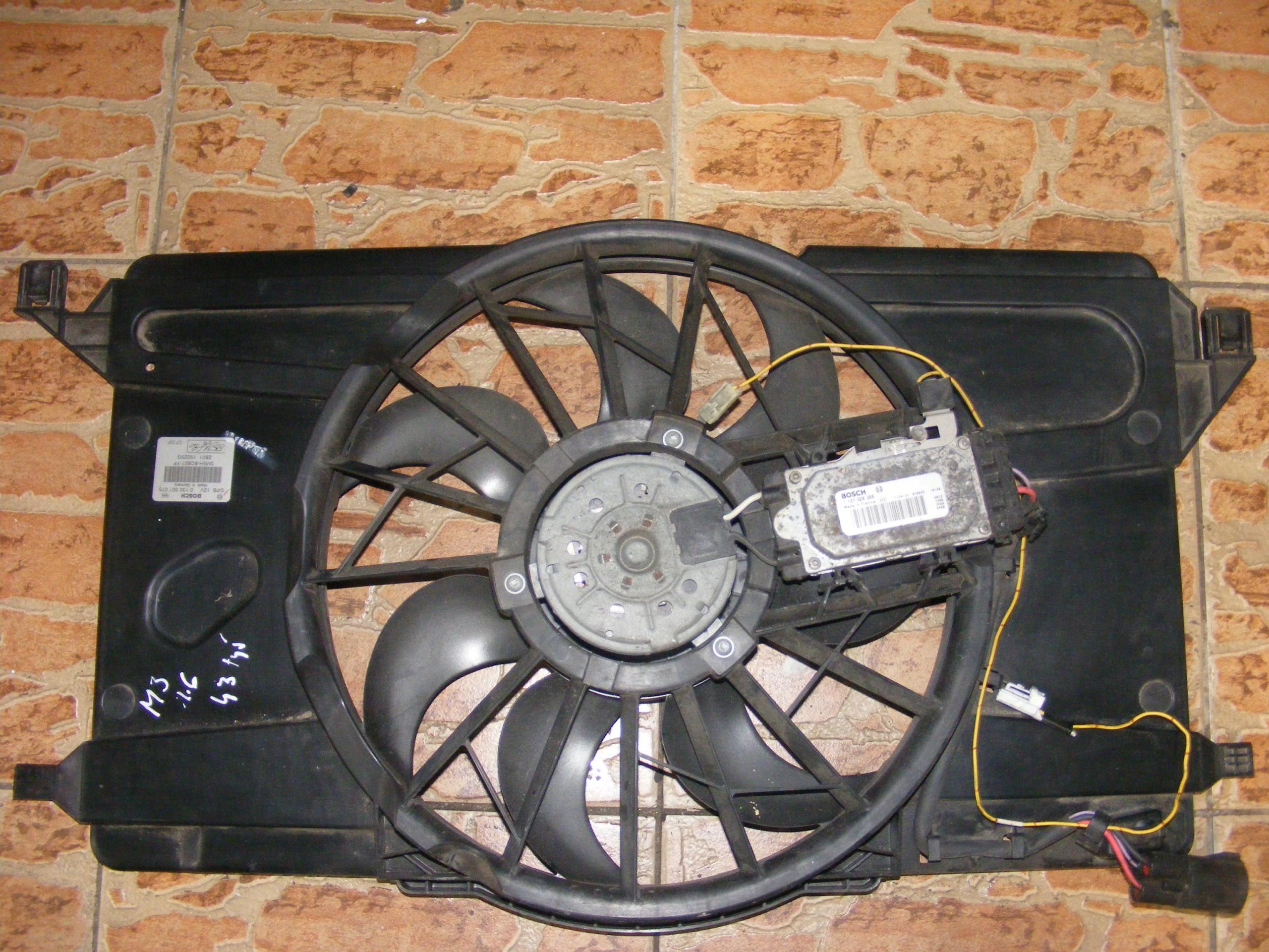 mazda 3 bk вентилятор модуль 1137328366 03-09r