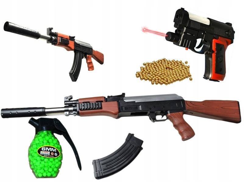 KALASZNIKOW AK47 RIFLE + A.238 GUN + BALL