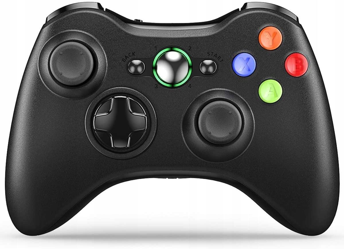 Nowy Pad Xbox 360 Bezprzewodowy Czarny DUALSHOCK
