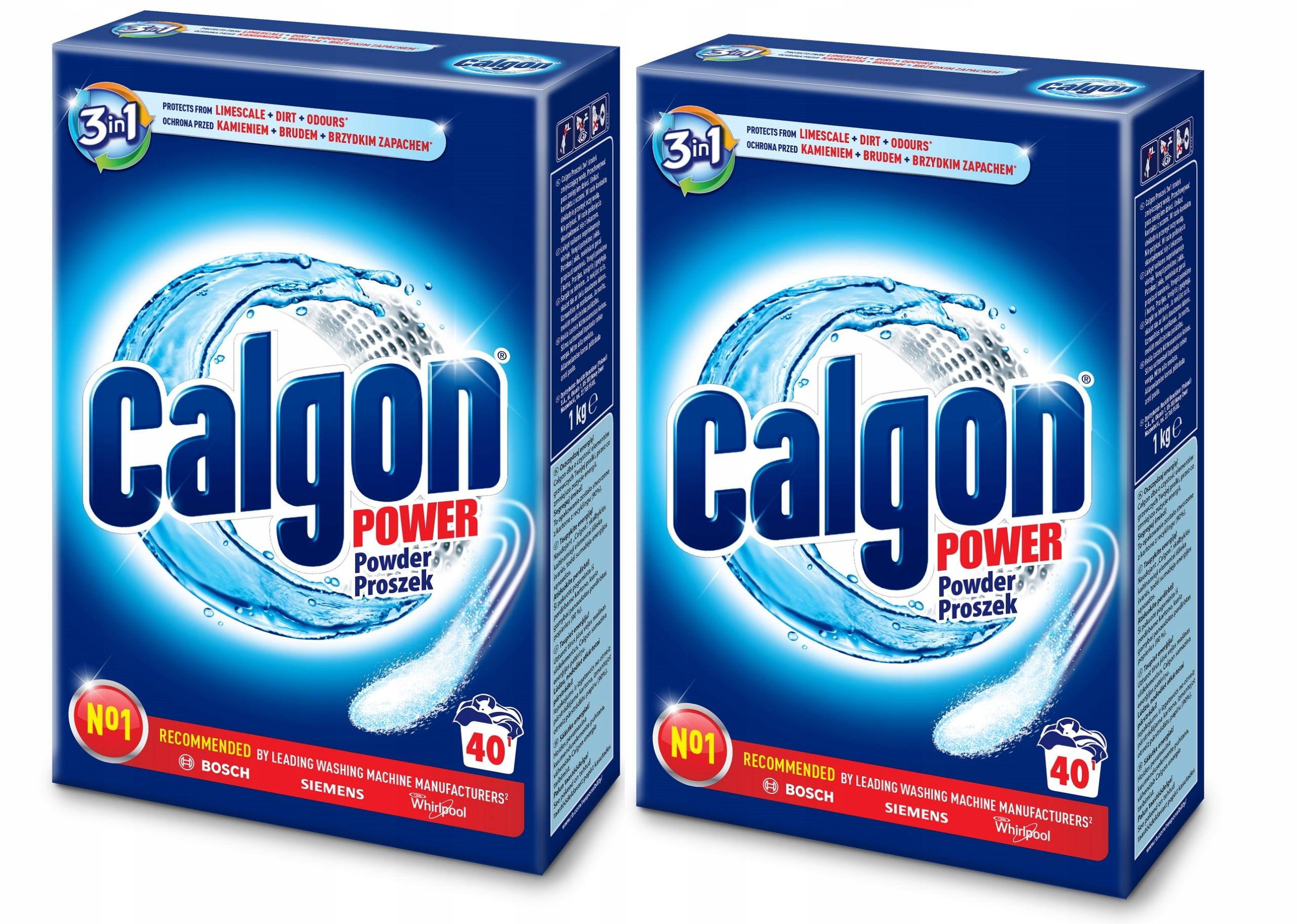 Calgon Порошок 3in1 шайба Destone 2кг 80pr