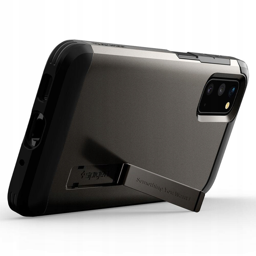 Etui Spigen Tough Armor do Samsung Galaxy S20 Kolor szary