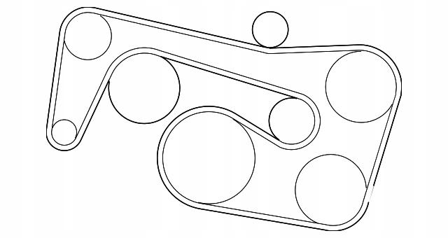 панель клиновой ремень mercedes w164 w221