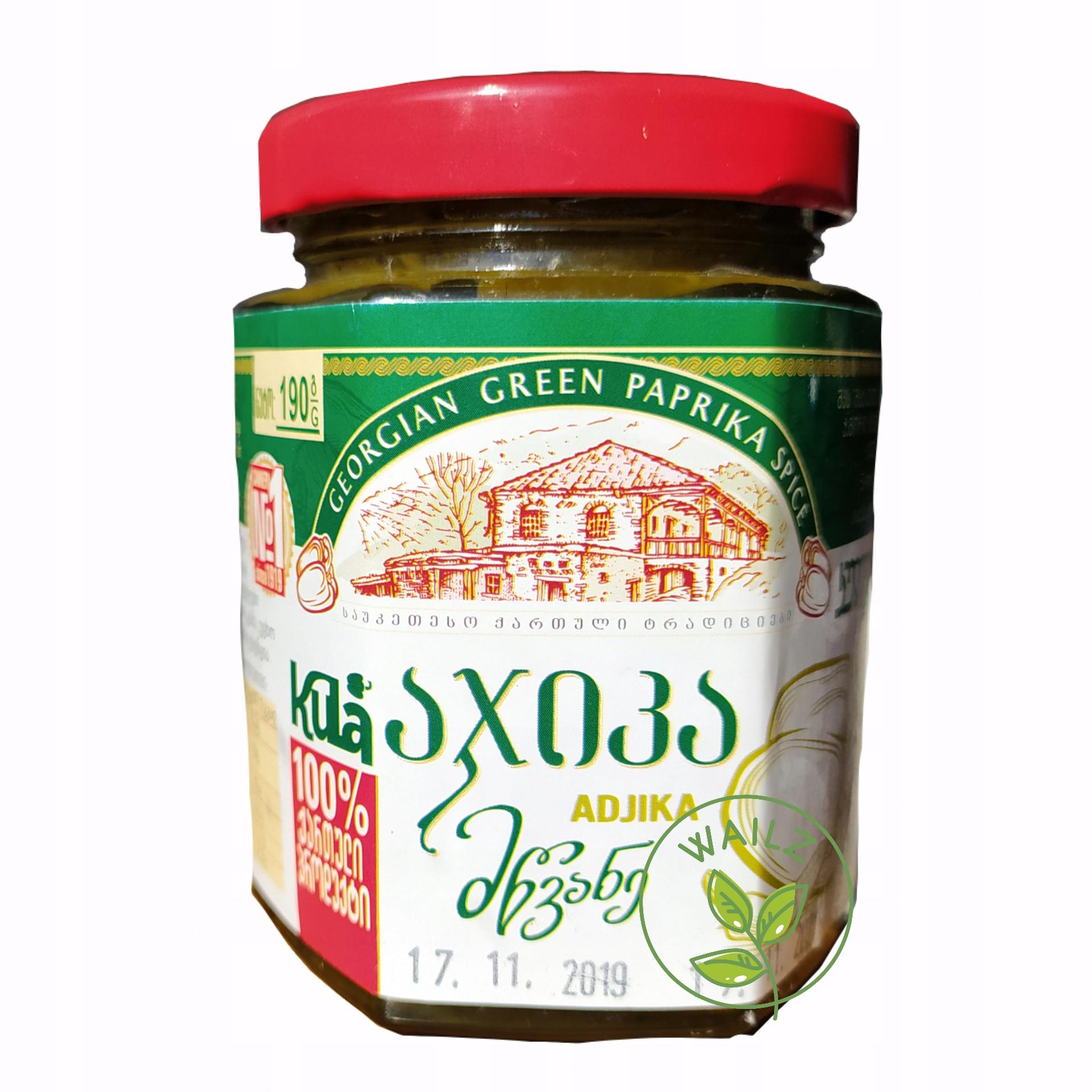Sos gruziński z zielonej papryki BEZ KONSERWANTÓW