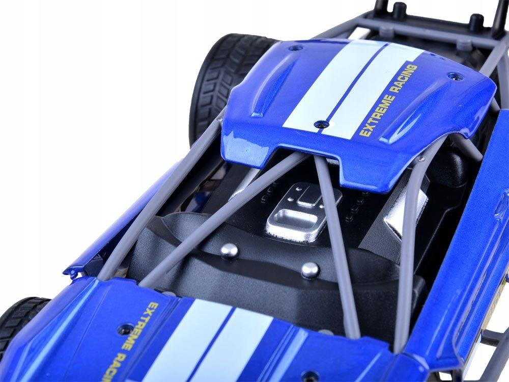 Szybkie METALOWE autko zdalnie sterowane RC0518 Wiek dziecka 8 lat +