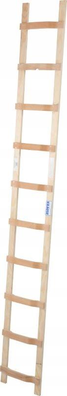KRAUSE Лестница деревянная кровельная 1x10 2,80 804419