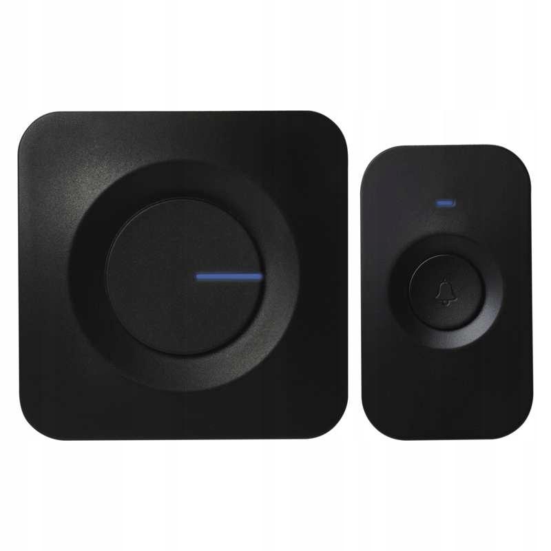 Dzwonek bezprzewodowy bateryjny EMOS czarny