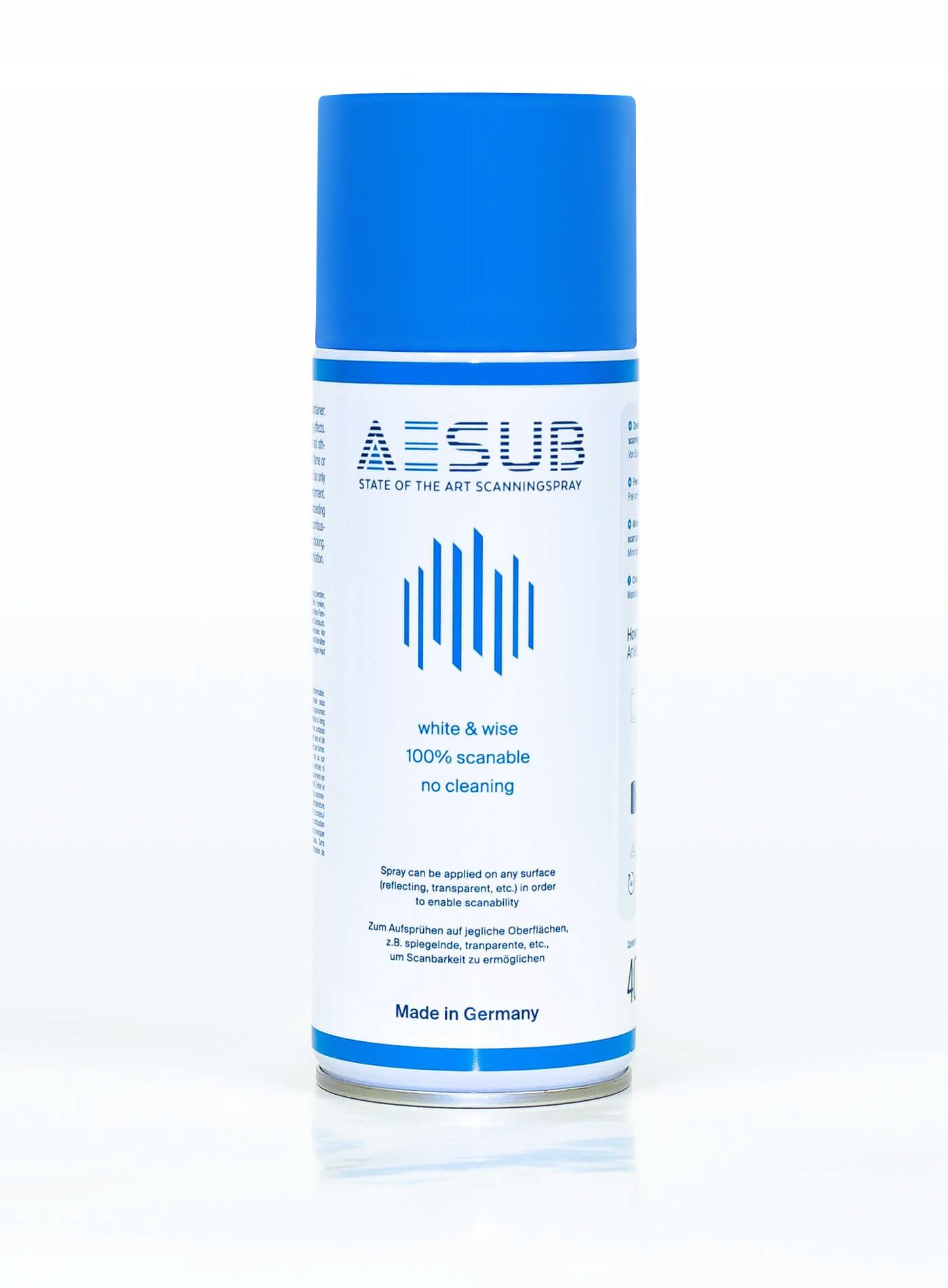 AESUB Blue spray do skanowania 3D - 1 szt