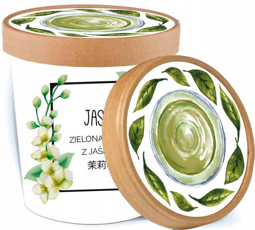 Зеленый жасминовый чай с цветком жасмина ПОДАРОК +