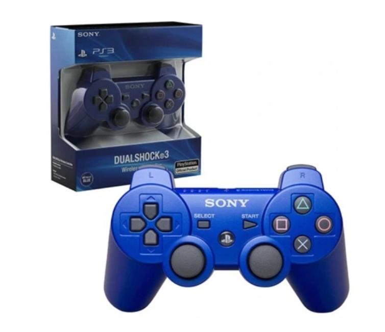Item PAD PS3 SONY PLAYSTATION 3 DUALSHOCK BLUE BOX