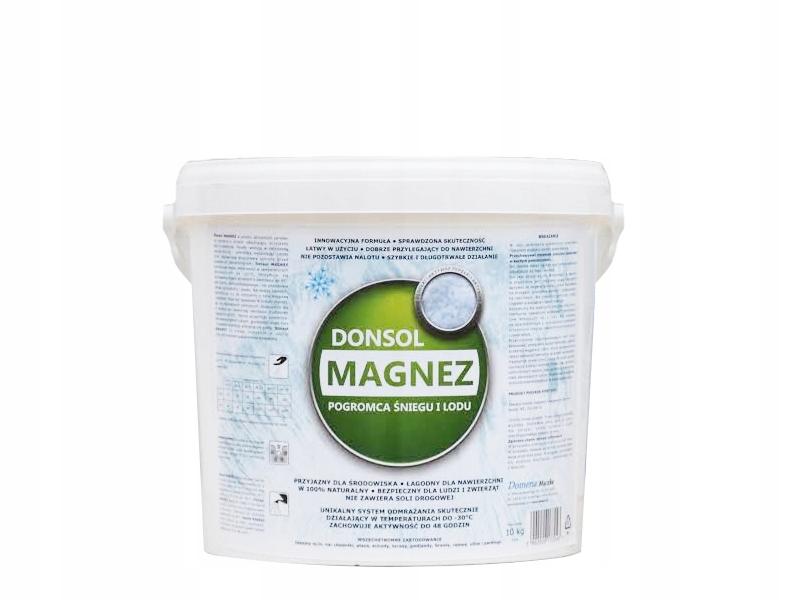 Donsol MAGNEZ 10kg zielony antylód chlorek magnezu