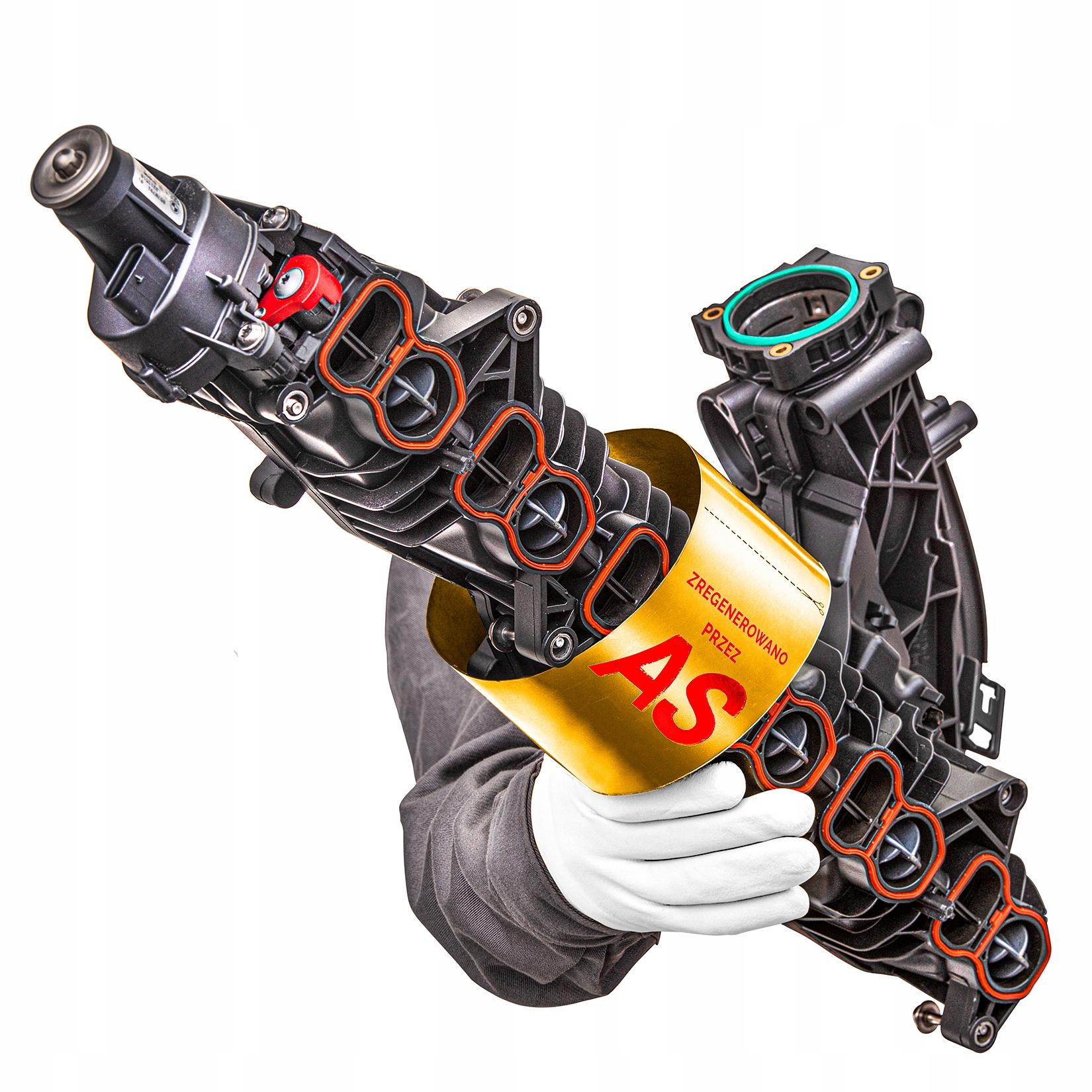 усиленный коллектор всасывающий bmw 30d n57 11618511363