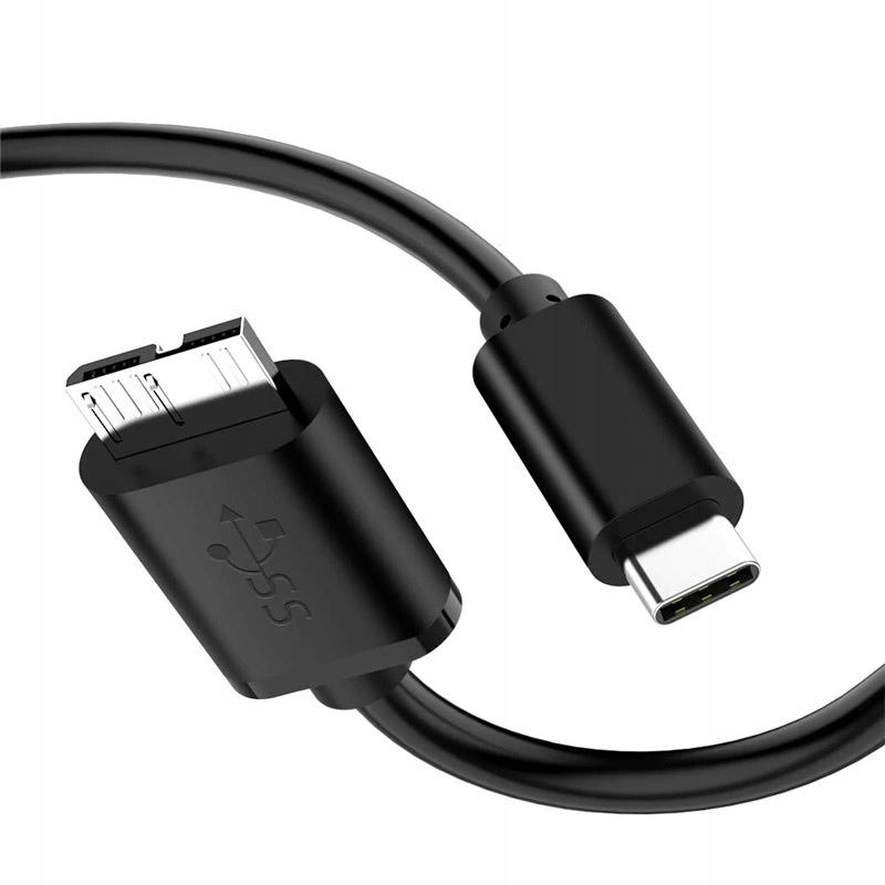 КАБЕЛЬ ДЛЯ ПРИВОДА MICRO USB 3.0 USB-C MAC