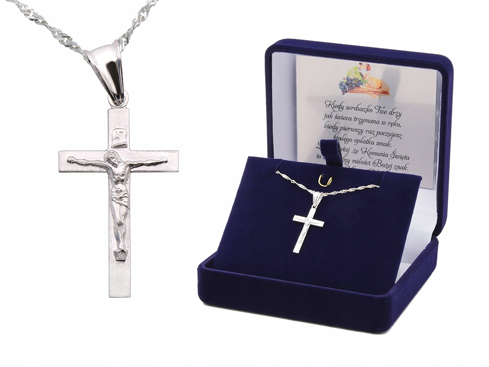 Item 925 Sterling silver Cross Baptism Communion GIFT ENGRAVER