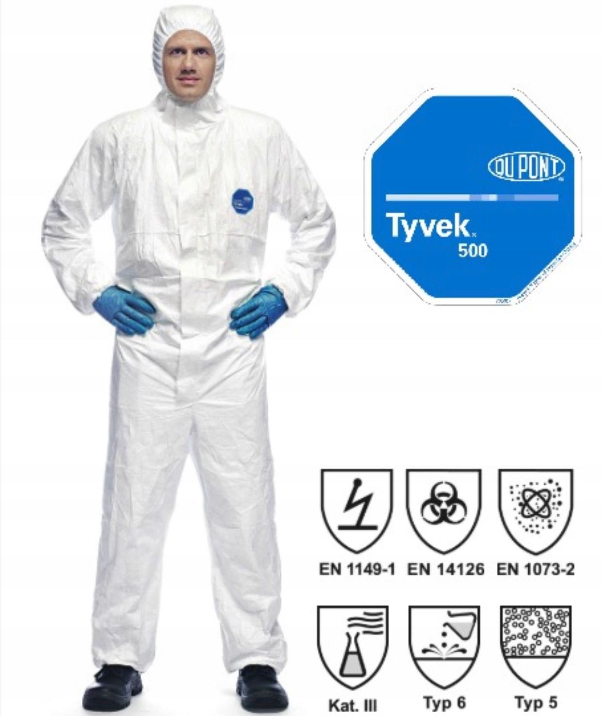 Комбинезон защитный TYVEK 500 Xpert en14126