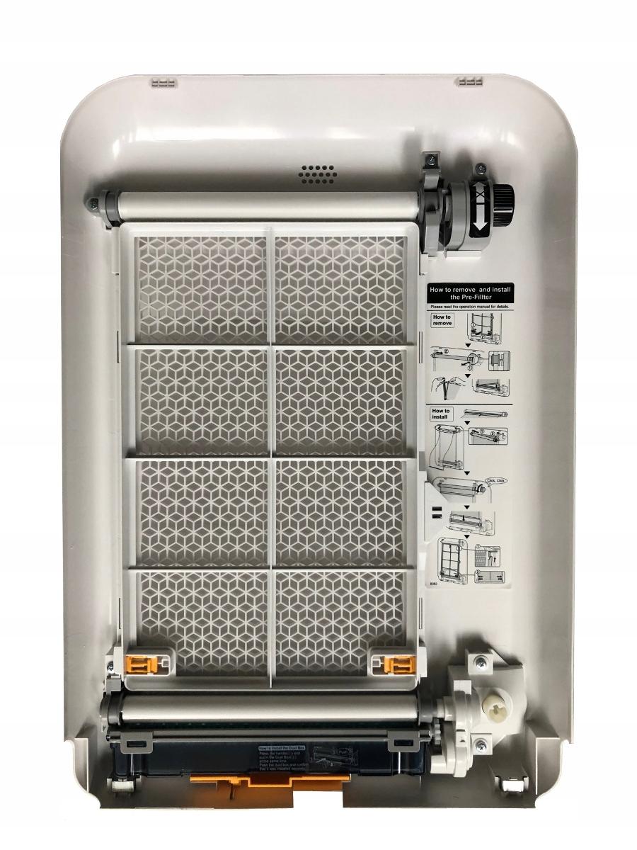 Oczyszczacz powietrza Sharp KI-G75EU-W + nawilżacz Maksymalna wydajność 450 m³/h