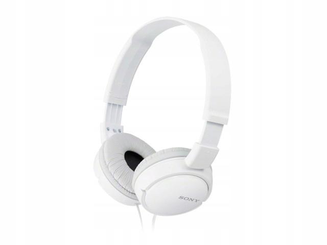 SONY Słuchawki MDR-ZX110 białe