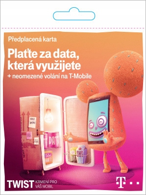 Item Czech sim-card of the Czech T-mobile WITHOUT REGISTRATION
