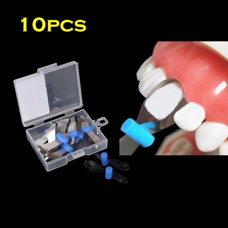 Стоматологическая двойная передняя матрица из полиэстера