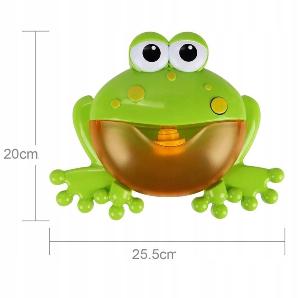 Żaba bąbelkowa do robienia piany żabka 1111-19 Marka Luxma