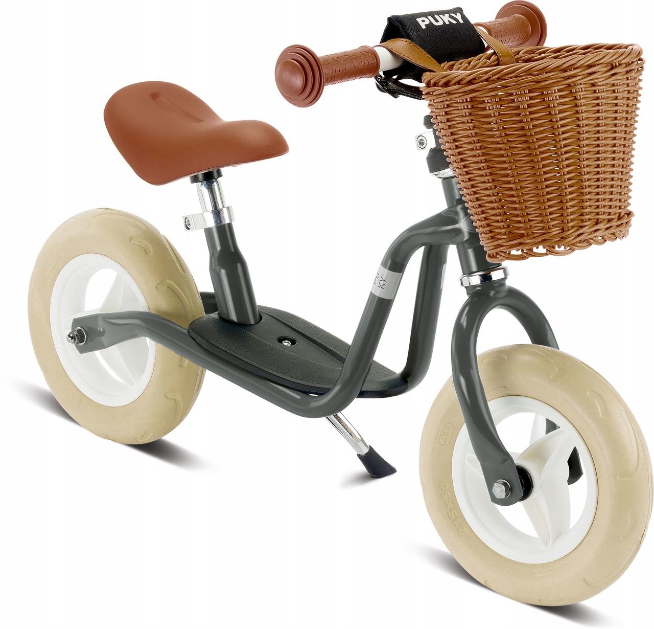 Rowerek biegowy PUKY LR M antracyt koszyk 3099