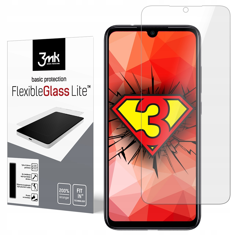 Xiaomi Redmi Note 7 ------- 3mk FlexibleGlass Lite