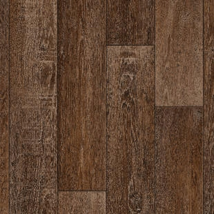 Podlahová doska z PVC retro | rustikálny dub | 350x400