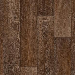 Podlahová doska z PVC retro   rustikálny dub   400 x 750