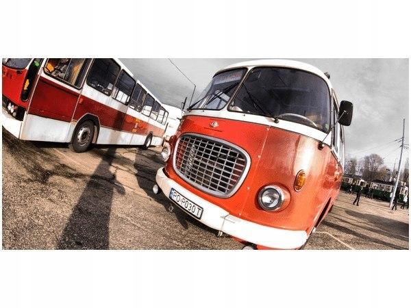 Retro Bus image staré červené autobusy MPK depá