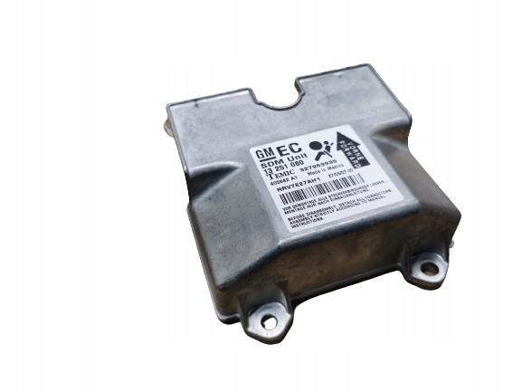 opel astra h модуль сенсор air сумка 13251080 eu 07 r