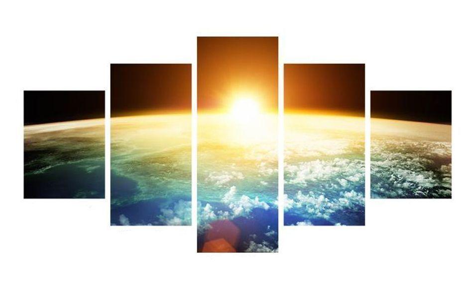 Наклейки на стену Картина Земля WS-0287