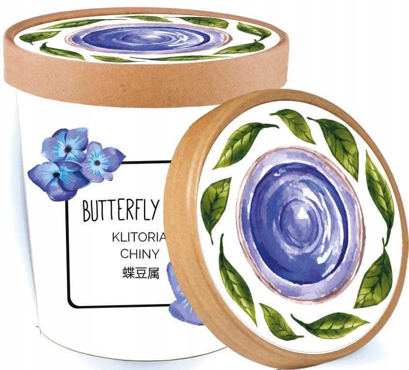 Бабочка Гороховый чай синий CLITORY GIFT