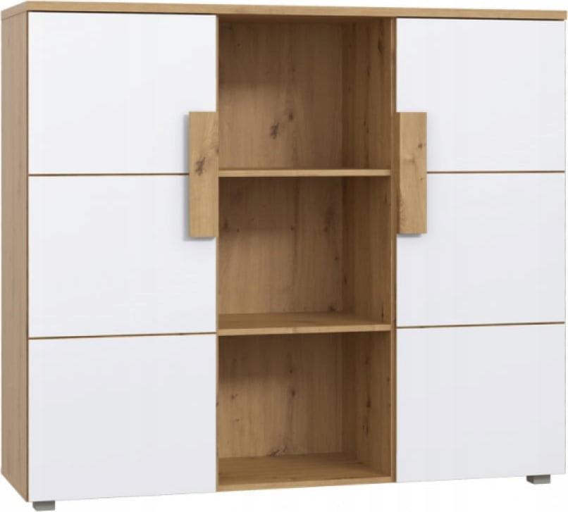 Комод Белый шкаф для детской Аркина стеллаж
