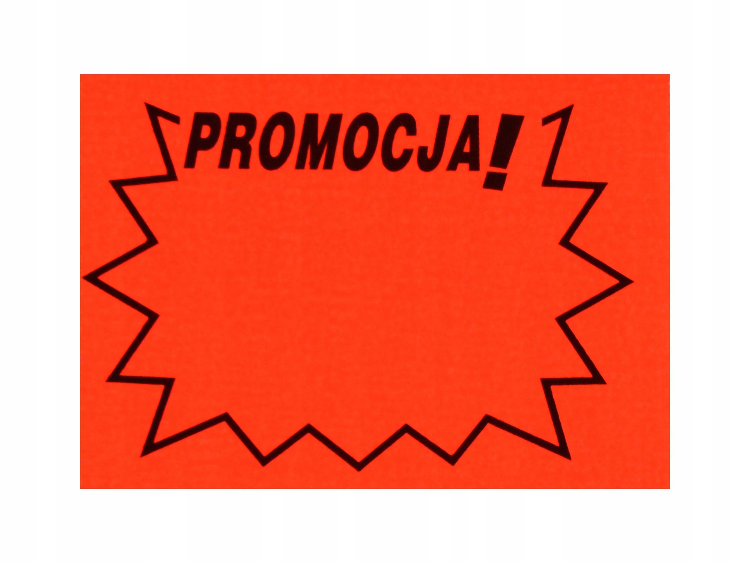 Cena Štítky Cena Cenová značka Promotion 120 ks