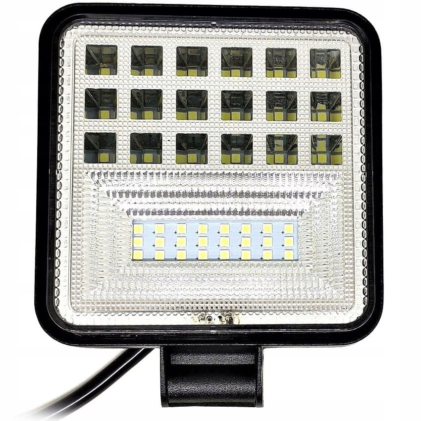 Lampa Robocza LED 126W Halogen Szperacz QUAD ATV