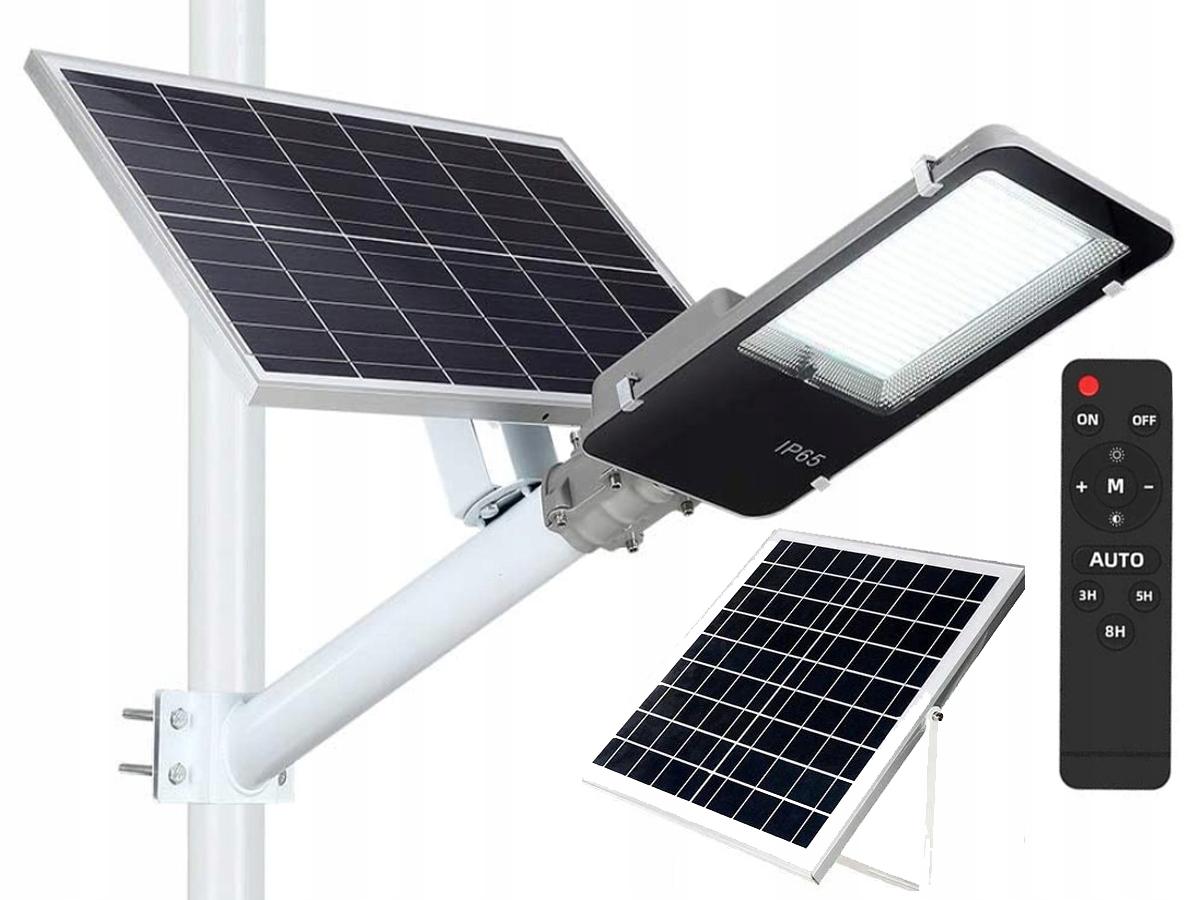 SOLARNA LAMPA ULICZNA LED JD-6120HL 300W