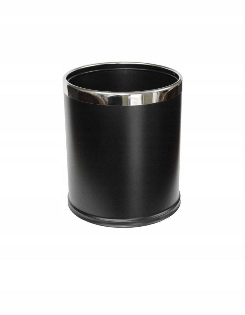 Otvorený košík 9 L Stella čierna matná 20 100 MB