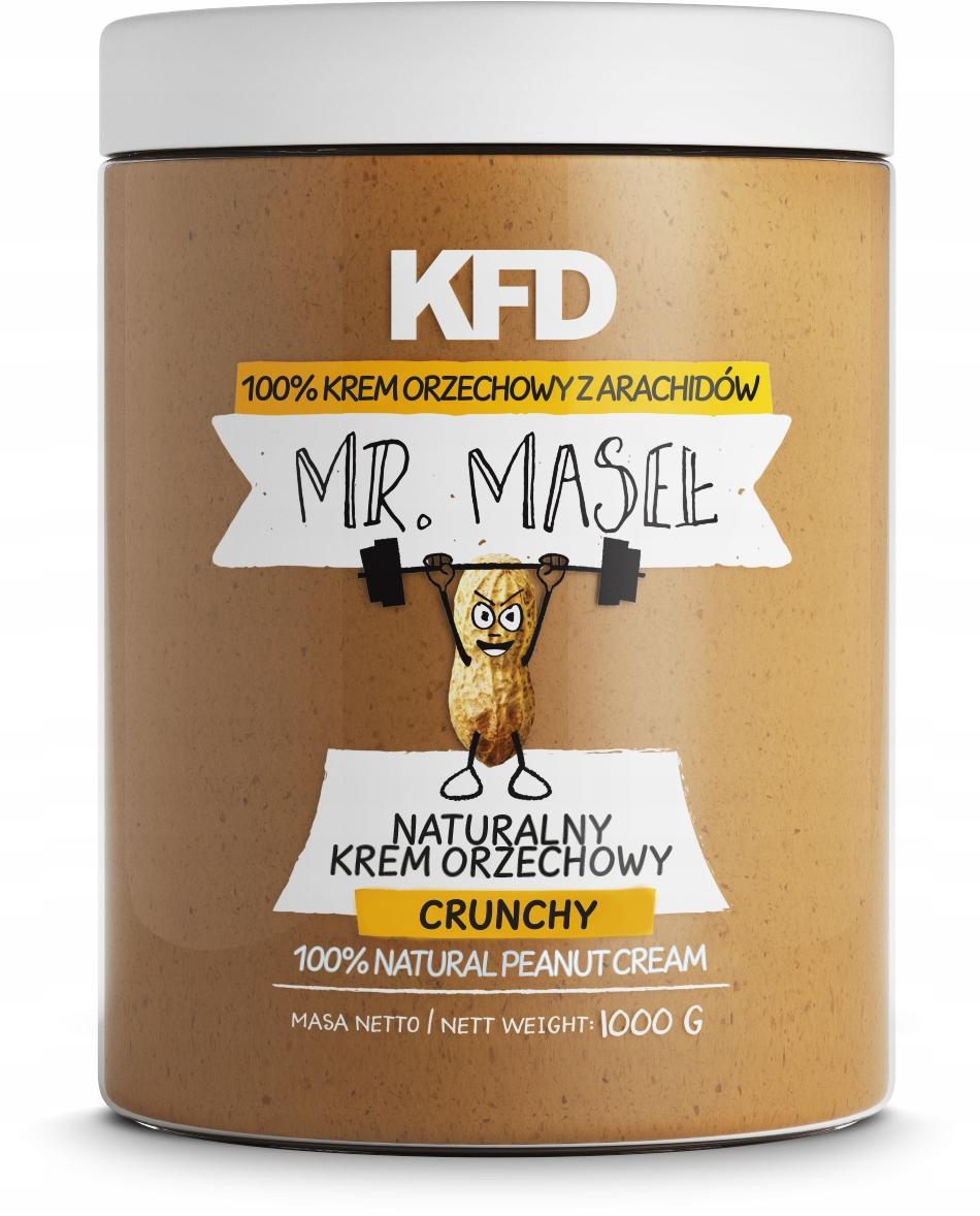KFD Peanut Butter 100% -PEANUT BUTTER-1kg CRUNCHY