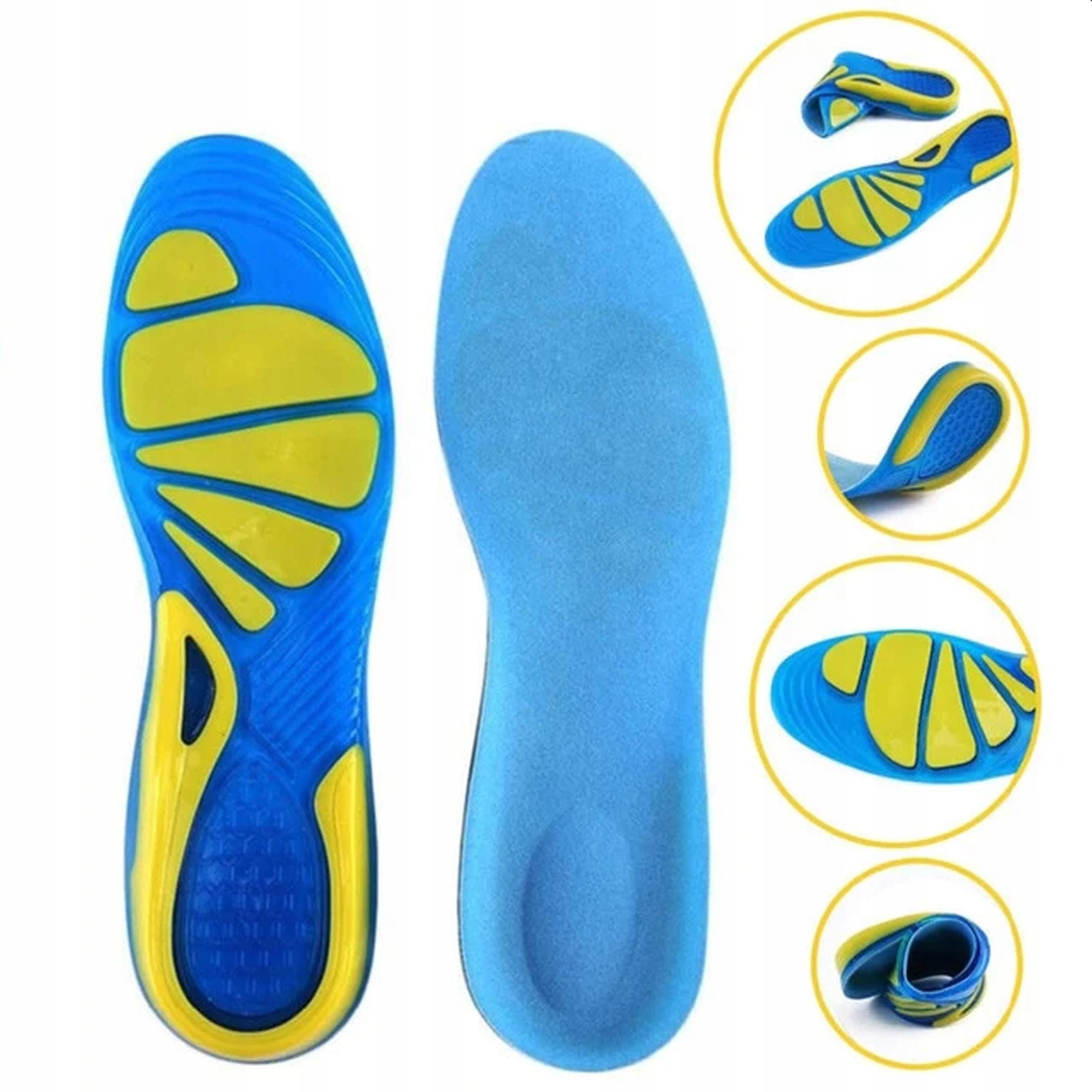 Гелевые стельки для обуви, смягчающие боль в ногах