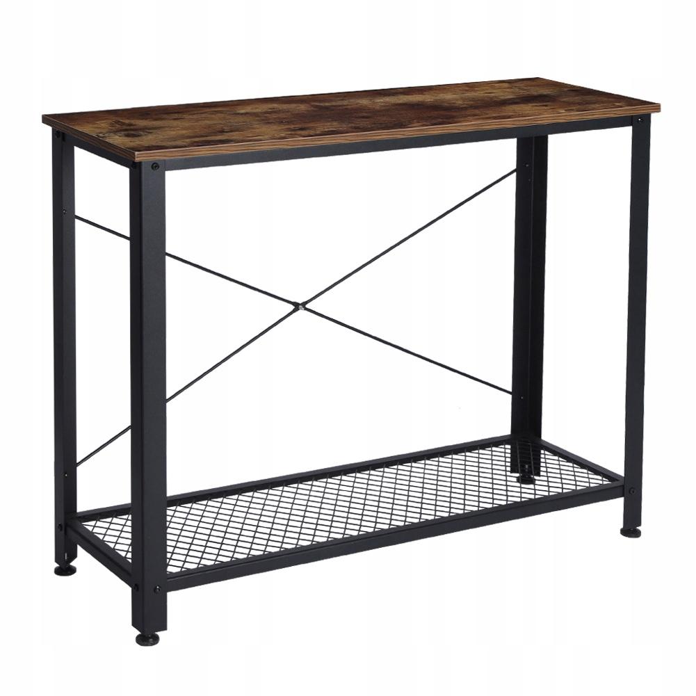 LOFT Dvojvrstvový retro stolík