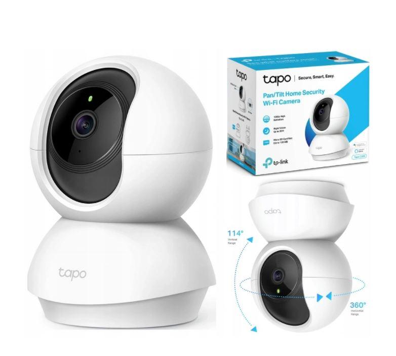 Tp-link Kamera Tapo C210 WiFi 3 Mpx Obrotowa
