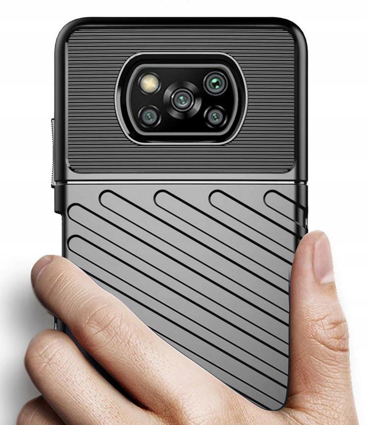 Etui do Xiaomi POCO X3 NFC Pancerne Case + Szkło Dedykowany model Xiaomi POCO X3 NFC