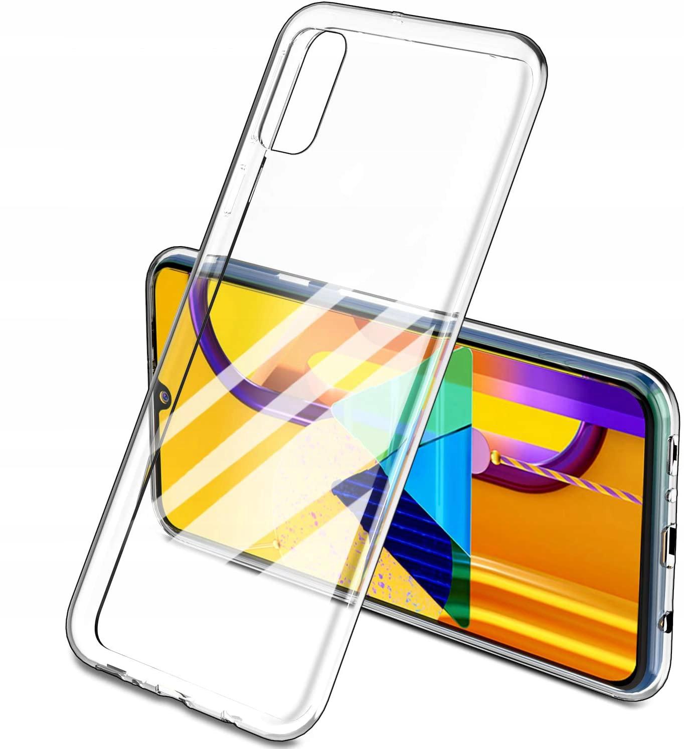 Etui Case Guma + Szkło 9h do Samsung Galaxy A41 Typ plecki