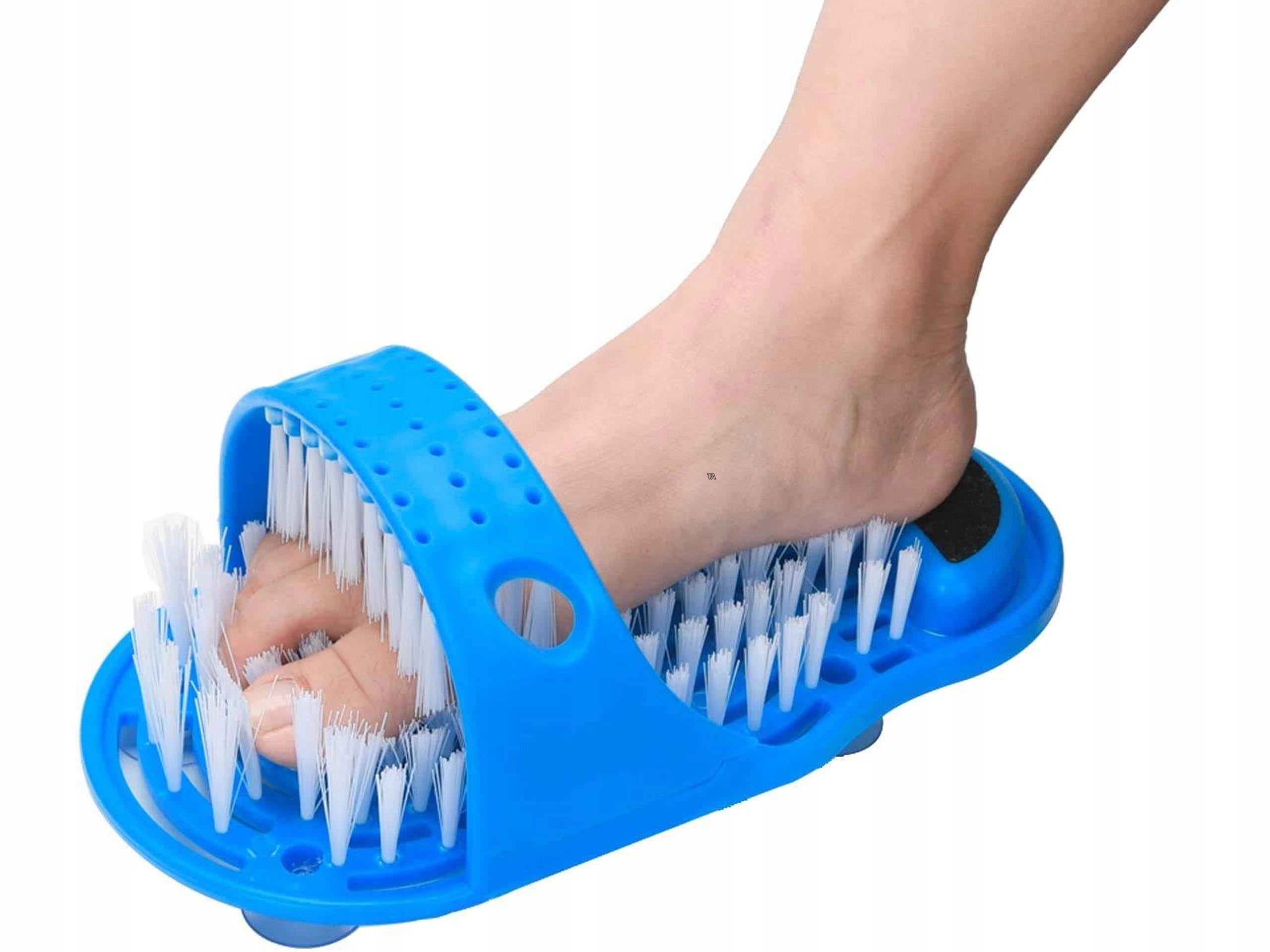 Sprcha nohy kefa ľahko nohy