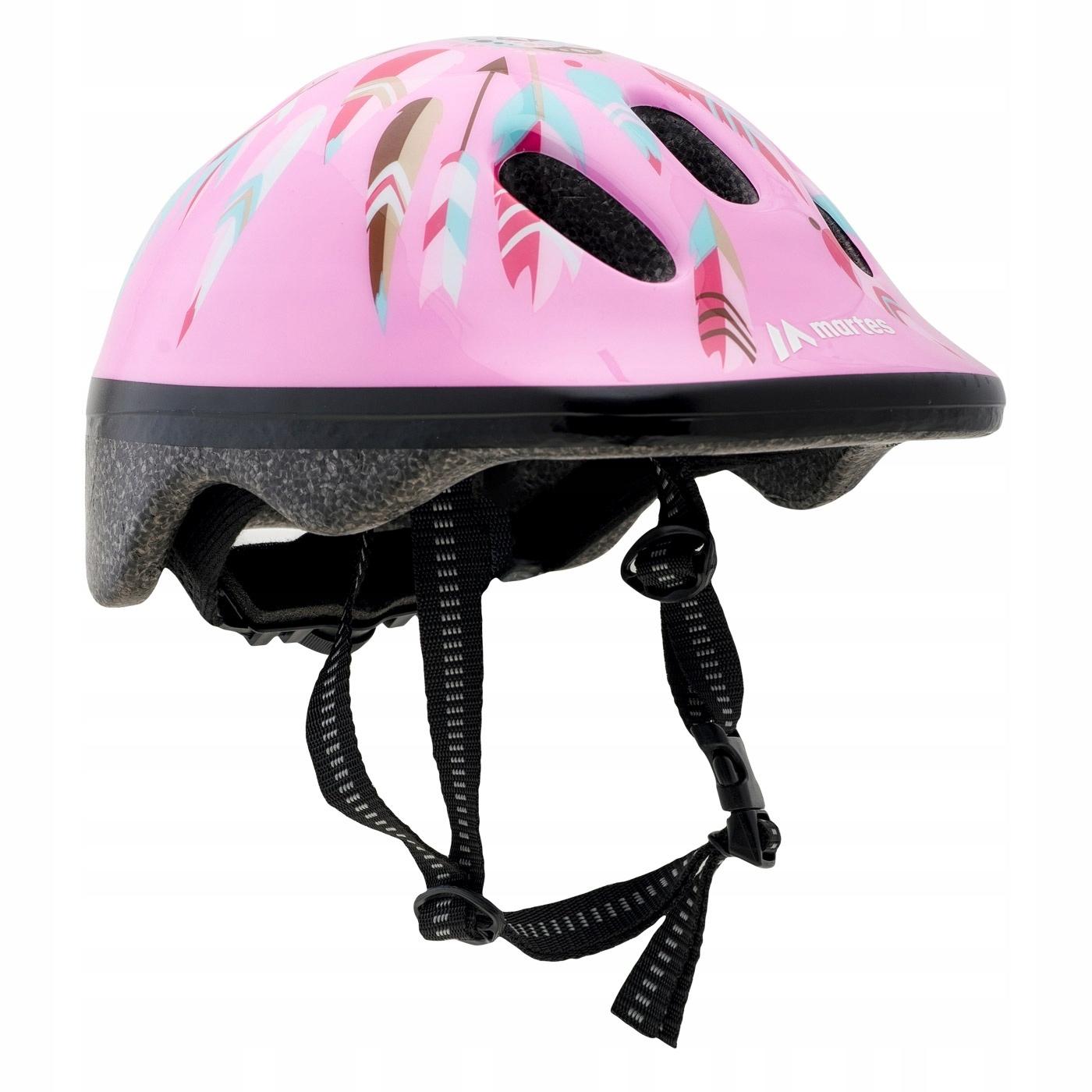 KASK DZIECIĘCY велосипедOWY ROLKI велосипед GIRL XS 44-48