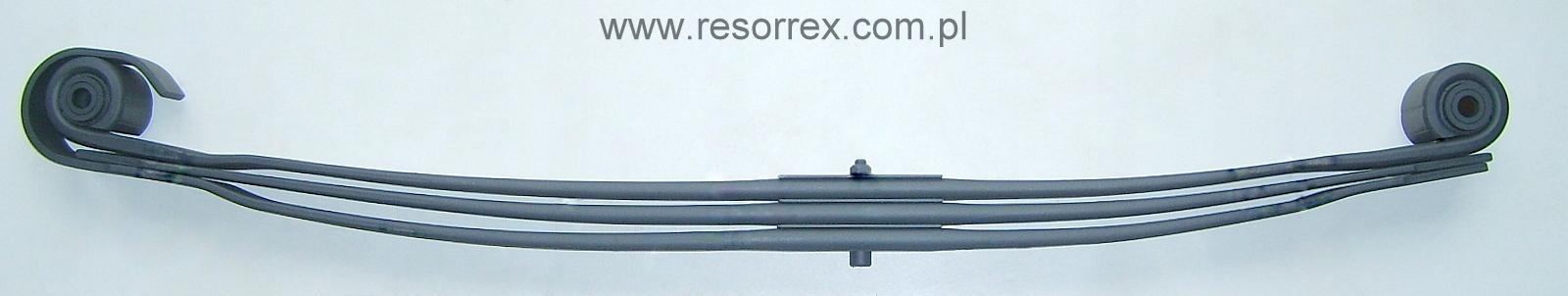 листовая передний 3 рессора mercedes benz actros