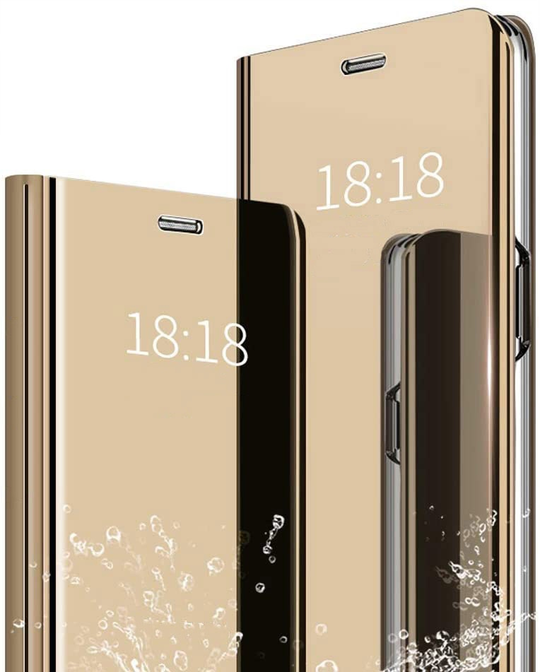Etui Clear View Cover SZKŁO do Huawei P Smart 2019