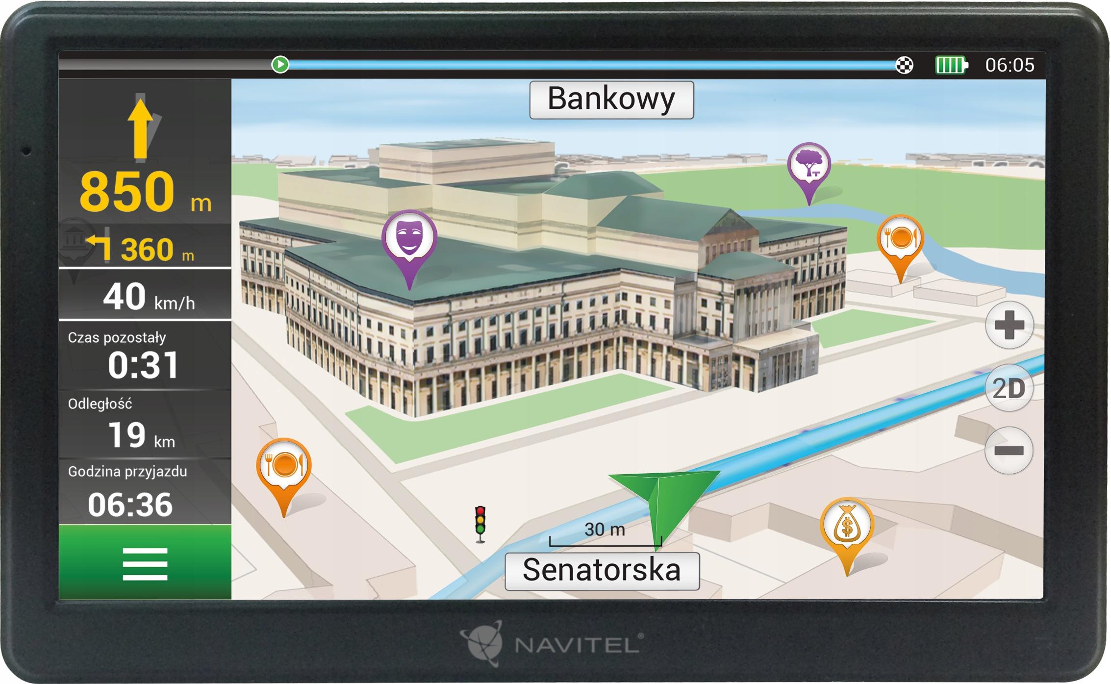 GPS-навигация Navitel E700 7